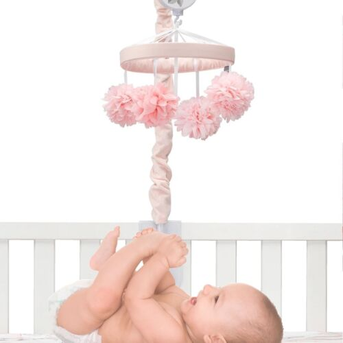 Lambs Ivy Signature Botanical 5 Piece Baby Nursery Crib Bedding Set w// Mobile