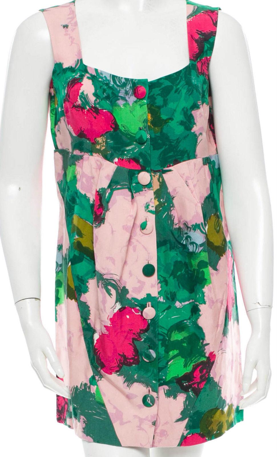 Balenciaga Floral Print Dress SZ FR 38 = Fits Fits Fits US S - NWOT 03ef0e