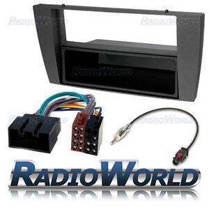 Jaguar-X-S-Type-SIngle-Din-Stereo-Radio-Fitting-Kit-Fascia-Panel-Adapter-Lead