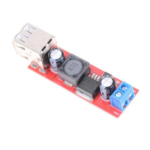 DC 6V-40V To 5V 3A Double USB Charge DC-DC Step-down Converter Module  AP W0!E