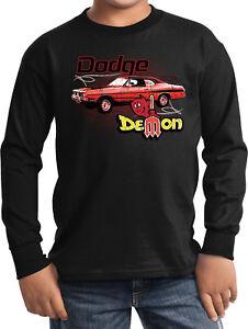 Buy Cool Shirts Kids Dodge T-shirt Distressed Demon Youth Tee