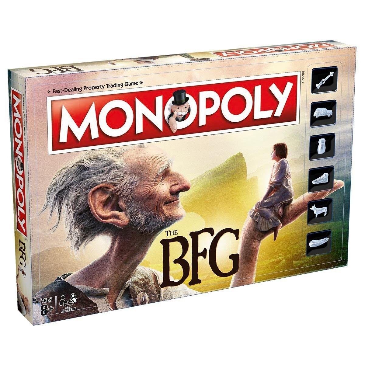 Monopoly The BFG (Big Friendly Giant) Brettspiel - englische Version NEU