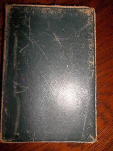 VANITY-FAIR-Thackeray-New-Century-Library-Leather-Cover-Pocket-Book-Nelson