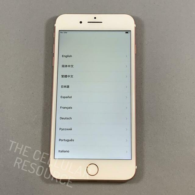 iPhone 7+ Plus 32GB AT&T Cricket A1784 Rose Gold Fully Tested *No Touch ID*