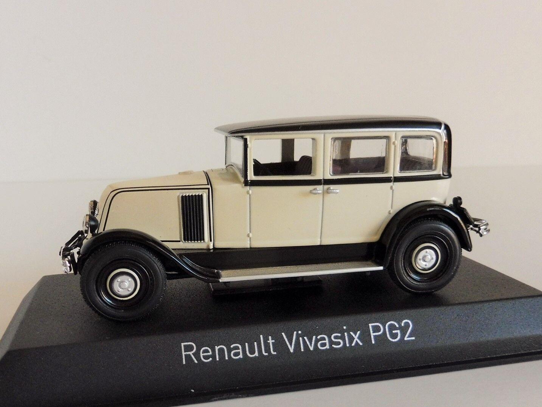 Renault Vivasix Pg2 1928 Crema 1 43 Norev 519515 Tipo Pg