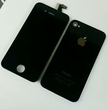 BEST QUALITY LCD DIGITIZER SCREEN REPLACEMENT FOR IPHONE 4S BLACK AND BACK COVER