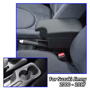 Car-Leather-New-Styling-Console-For-Suzuki-Jimny-2000-2017-Armrest-USB-2005