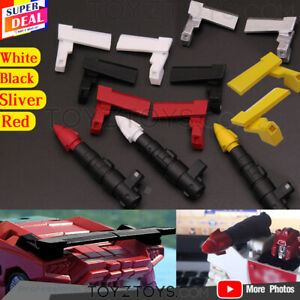 TRANSFORMERS 3D DIY replenish KIT KITS FOR Cybertron Siege black Sideswipe