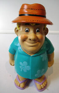 Retro-Character-Statue-Figurine-Beach-Man-25cm-High-Resin-Construction-BNWT