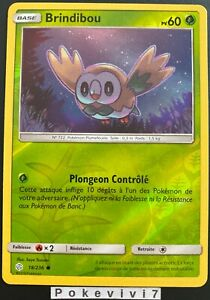Carte-Pokemon-BRINDIBOU-18-236-REVERSE-Soleil-et-Lune-12-SL12-FR-NEUF