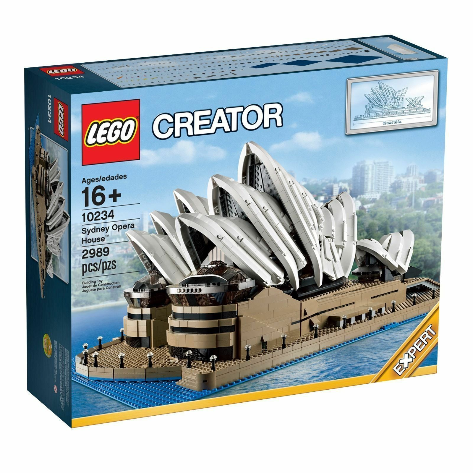 LEGO CREATOR Sydney Sidney Opera House  10234