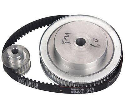 CNC Engraving Machine Accessory 5M Timing Pulley Belt Set Kit Reducer Ratio 3:1