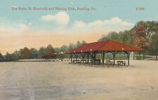 Penn Street Reservoir & Skating Rink in Reading PA OLD