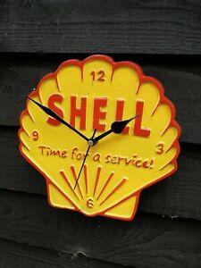 Shell Sign Shell clock garage sign cast sign aluminium shell advertising VAC255
