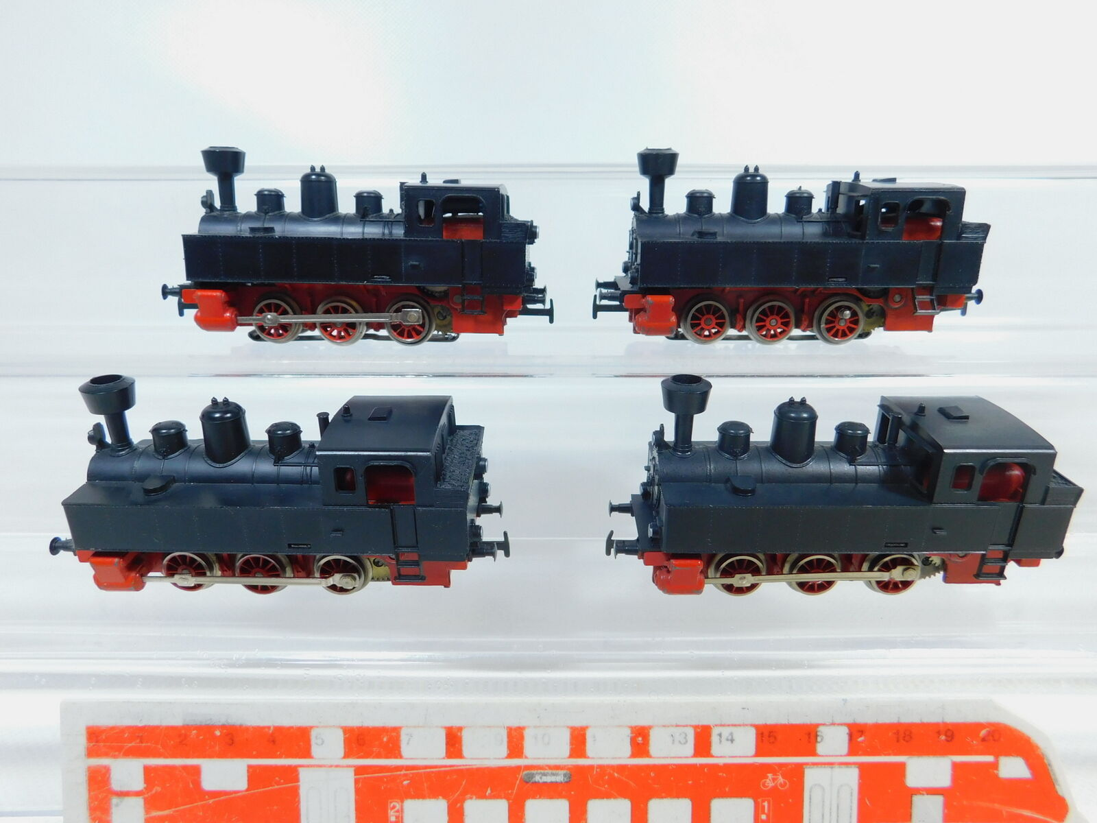 Bz224-2x Märklin h0 ac Locomotive Tender Steam Locomotive Locomotive