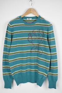 MOSCHINO-JEANS-MOD-M-S-G54-01-Men-M-Wool-Blend-Popeye-Striped-Sweater-28380-JS