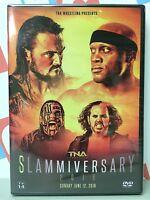 Tna Impact Wrestling Slammiversary 2016 Dvd Matt Jeff Hardy