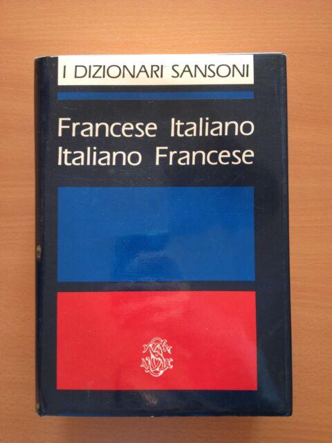 Dizionario francese-italiano / italiano-francese - AA.VV. - Sansoni 2989