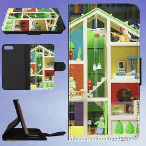 DECOR-DECORATION-DISPLAY-DOLL-HOUSE-FLIP-WALLET-CASE-FOR-APPLE-IPHONE-PHONES