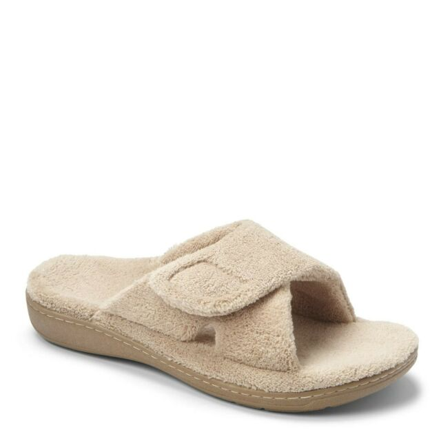 Orthaheel Womens Relax Slippers 9 M Tan