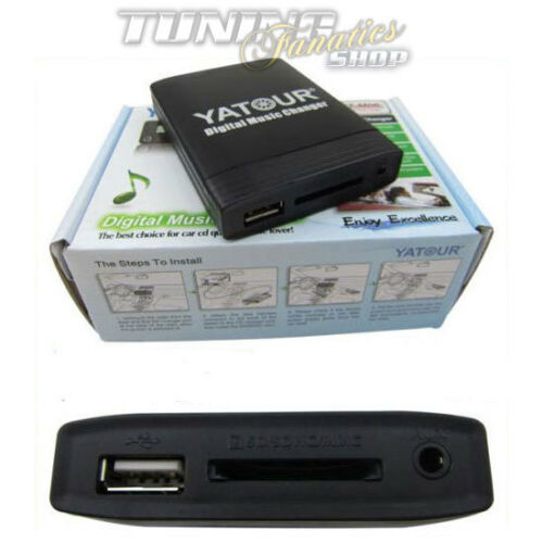 USB SD MP3 AUX CD Wechsler Adapter 6+3 Pin für BMW 16:9 Professional Navigation