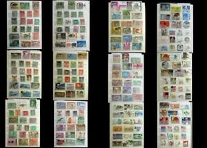 World Stamp Collection India Pakistan Travancore Bahawalpur & United States