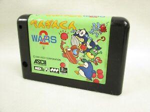 Msx-penguin-kun-wras-2-msx2-single-cartridge-ref-1527-japan-video-game-msx