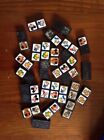A SELECTION OF OLD RETRO VINTAGE DOMINOES WALT DISNEY MICKEY MOUSE DOMINOS