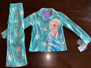 NEW NWT MSRP $30 Size 2T Toddler Girls Disney FROZEN ELSA 2-Pc Pajamas