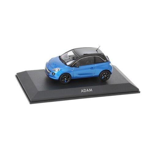 Onyx Black OC10927 OPEL Adam Modellauto in 1:43 Arden Blue