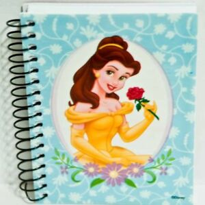 Disney-Princess-Beauty-And-The-Beast-Belle-Small-Spiral-Notebook-Autograph-Book