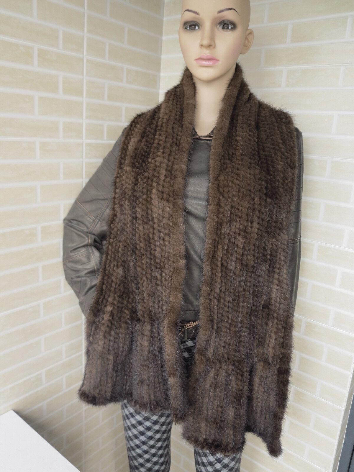 New style Braid Genuine mink fur cape /scarf /collar sh