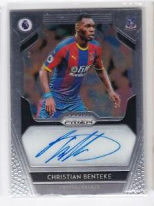 2019-20-Christian-Benteke-Auto-Panini-Prizm-Autographs-Premier-League