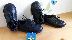 fabbrica moderno ed elegante nella moda materiale selezionato Dettagli su Scarpe bimbo oxford stringate nere blu cerimonia elegante  matrimonio battesimo