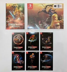 Hyrule Warriors Age Of Calamity Poster Notebook Artcards No Game Ebay