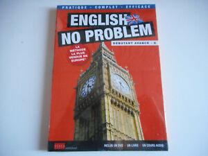 DVD-NEUF-ENGLISH-NO-PROBLEM-DEBUTANT-N-8-INCLUS-1-DVD-1-LIVRE-1-COURS
