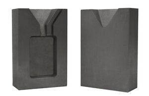 1 Troy Gramm Silber Rechteckig Zweiteilig Aufgeteiltes Graphit Gussblock Form Delikatessen Von Allen Geliebt