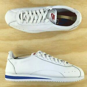 Nike-Classic-Cortez-Leather-White-Premium-Retro-Running-Shoes-807480-103-Size