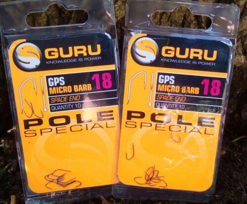 Guru GSP Pole Special Barbed Spade End Hooks