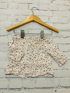 Baby Girls 0-3 Months Clothes Vertbaudet Blouse shirt Top *We Combine Postage*