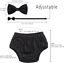 Baby Boys First Birthday Cake Smash Outfit Bloomers Bow Tie Suspenders Set Fishi