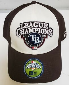 brand new 92227 50203 Image is loading Tampa-Bay-Rays-2008-MLB-World-Series-Hat-