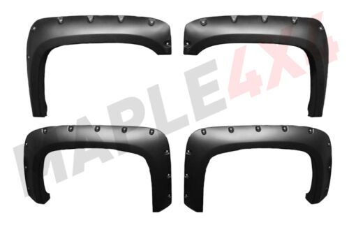 Paintable 99-06 Chevy Silverado 1500//2500HD//3500HD Fender Flares Flare Riveted