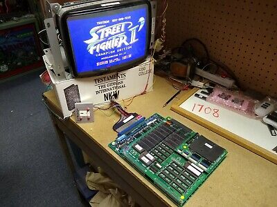 Street Fighter II Champion Edition CPS PCB Japan Arcade Video Game Capcom 1992