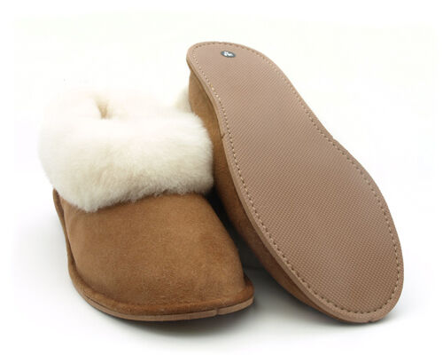 Ladies Womens Portuguese Traditional Merino Sheepskin Slippers Boots