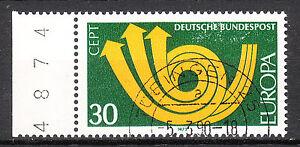 BRD 1973 Mi. Nr. 768 Eurapa Seitenrand Bogenzähler gestempelt LUXUS!!! (12133)