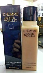 L-039-Homme-Roger-amp-gallet-Balsamo-nach-Shampoo-150-ML-Seltene-Vintage-Made-in-France