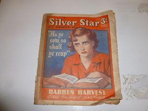 SILVER-STAR-Comic-No-414-Date-25-11-1943-UK-034-WOMAN-034-Paper-Comic
