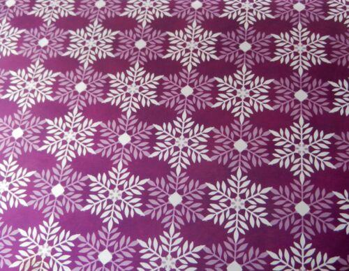 SPARKLING SNOWFLAKES 8 x 8 PAPER PAD GLOSSY HIGH SHINE MIRRI CARD by HUNKYDORY
