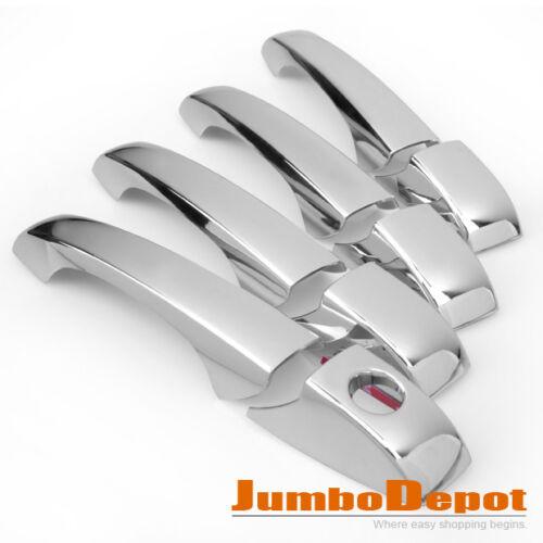 New Set For 2005-2010 Chrysler 300//300C Mirror Chrome Door Handle Cover Keyhole
